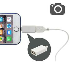 USB Female to Apple Male OTG Transfer Adapter Lightning Cable For iPad iPhone