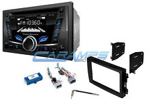 NEW POWER ACOUSTIK CAR STEREO RADIO WITH BLUETOOTH CD AUX/USB INPUTS INSTALL KIT