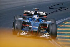 Stephane Sarrazin Hand Signed 12x8 Photo Fondmetal Minardi Ford F1 2.