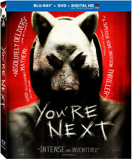 You're Next [2 Discs] [Includes Digital  (2014, REGION A Blu-ray New) BLU-RAY/WS