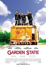 GARDEN STATE - 27x40 D/S Original Movie Poster One Sheet Zach Braff Natalie Port