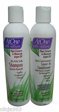At One with Nature Shampoo and Conditioner with Moroccan Argan Oil
