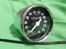 60-7222K  VEGLIA type speedo SPEEDOMETER for TRIUMPH T140 T160 KMPH+bulb+holder