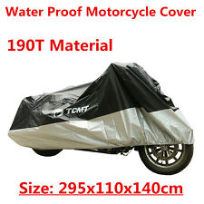 Large Waterproof Sun proof Cover For Motorcycle Scooter Protector 295x110x140cm