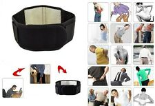 16 Magnetic Waist Lumbar Belt Brace For Lower Back Pain Relief Therapy Support W