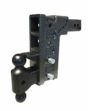 "GenY 624 2.1/2"" Class V 21,000 lb. Adjustable Pintle Ball Mount Combo,Drop Hitch"