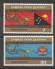 PAPUA & NEW GUINEA 1975 Independence Set Unmounted Mint