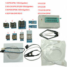 TL866A Programmer USB EPROM FLASH BIOS 8+2 Adapter Extractor Clip for 13000 IC