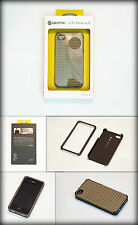 Griffin Chilewich iPhone 4 / 4S Pleated Hard Shell Case - Black & Gold RRP: £20
