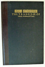 Tragedie of Othello William Shakespeare Facsimile First Folio Large H/B Book VGC