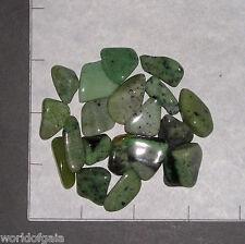 "GROSSULARITE GARNET A Grade sm-med tumbled 3 oz bulk stones green 5/8-1 1/8"""