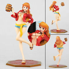 Anime One Piece Nami Two Years Later Luffy Hat Costumes Figure Figurine No Box