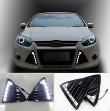 For Ford  Focus Car LED Daytime Running Light Fog Lamp DRL 2011 2012 2013 2014