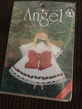 Counted Cross Stitch Kit, Angel Christmas Ornament Kit 1439 Bow