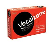 Vocalzone Throat Pastilles (24 Pastilles) Free Shipping to the USA