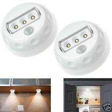 2 x Cinch CP-01A of 3 AAA battery included Wireless Motion Sensor Lights : White