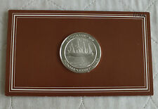 SS OCEANIC 1870 44mm HALLMARKED SILVER PROOF MOUNTBATTEN HISTORY MEDAL
