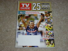 LANCE ARMSTRONG * 25 AWESOME SPORTS MOMENTS July 17 2005 TV GUIDE MAGAZINE