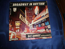 "RAY CONNIFF - BROADWAY IN RHYTHM - RARE 1958 PHILIPS 7"" E.P. - EXC."