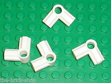 LEGO TECHNIC white Angle Connectors 6 ref 32014 / set 8289 7674 9748 65081 8009