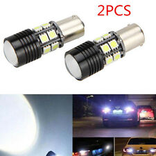 2x Canbus No Error 1156 BA15S P21W LED Car Tail Backup Reverse Light Bulb White