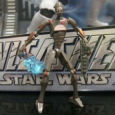 STAR WARS the clone wars COMMANDO DROID CAPTAIN Rishi Moon Outpost Attack tcw CW