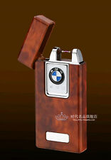 BMW High-end Low-Carbon Golden Electric Arc USB Rechargeable Cigarette Lighter