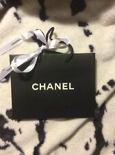 Chanel Paper Carrier Bag Small And A Ribbon
