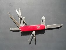Victorinox Huntsman Swiss Army knife in red - with hook and hidden pin