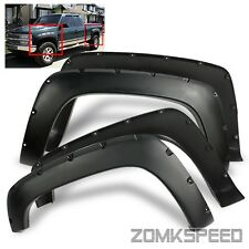 For 1992-1999 Chevy/GMC Suburban Pocket Riveted Bolt On Fender Flares Protectors