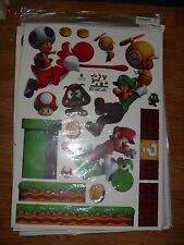Super Mario Decals Removable Wall Sticker Bros Kids Nursery Home Decor Vinyl