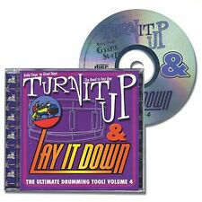 Turn It Up & Lay It Down Baby Steps to Giant Steps Drum Practice Playalong CD 4