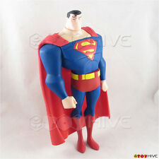 Justice League Unlimited Superman 10 inch vinyl action figure DC JLU loose
