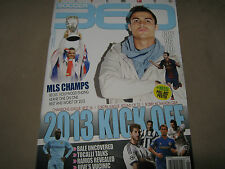 SOCCER 360 Issue 43 2013 Kick Off CR7 vs LEO Gareth BALE Ramos + MESSI POSTER