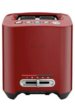 NEW Breville BTA830CB The Smart Toast Long Slot 4 Slice Toaster: Cranberry Red