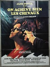Affiche ON ACHEVE BIEN LES CHEVAUX They shoot horses don't they FONDA R120x160*
