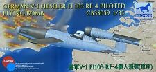 BRONCO CB35059 WWII German V-1 Fieseler FI103 RE-4 Piloted Flying Bomb in 1:35