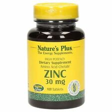 Zinc 30 mg Nature´s Plus 180 Tabletten EUR 0.15/pro Tablette