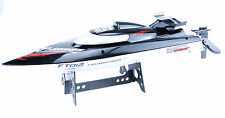 Feilun FT012 2.4 GHz Brushless RC Racing Boat in schwarz RTR mit 11,1V Akku