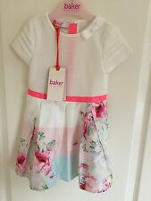 Ted Baker Baby Girls Beautiful Floral Dress. Bnwt. Size 18-24 Months. Designer.