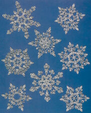 Lake City Craft Quilling Kit - Snowflakes (Blue)