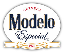 "Modelo Cerveza Especial Mexican Beer Drink Car Bumper Sticker Decal 5"" x 4''"