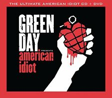 GREEN DAYTHE ULTIMATE AMERICAN IDIOT CD + DVD ALBUM BOX SET (2015)