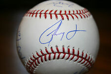 RON WASHINGTON AUTOGRAPHED SIGNED MAJOR LEAGUE BASEBALL PLUS 7 MORE