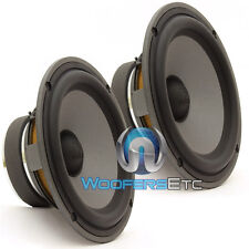 "PAIR FOCAL HP-165V2S POLYGLASS 6.5"" MIDRANGE MID-BASS SPEAKER FOR COMPONENT NEW"