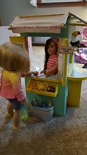American Girl Lea Clark Snack Hut...Meticulous Condition...Slightly Used