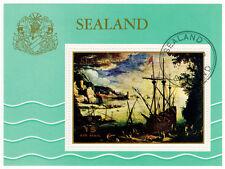 (I.B) Cinderella Collection : Sealand Mini-Sheet $1 (Explorers)