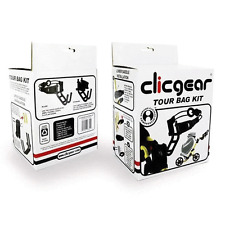 """NEW 2016"" CLICGEAR GOLF TROLLEY / TOUR BAG CONVERTER KIT / SET FITS ALL MODELS"
