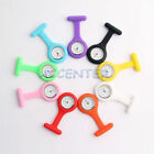 Silicone Quartz Fob Nurses Watch Yellow Blue Purple Pink White Nurse Watches
