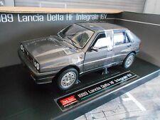 LANCIA Delta 8V 4x4 Integrale 1989 grau grey met Sunstar RAR 1:18